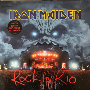 Iron Maiden ‎- Rock In Rio (3 x LP) (Picture Disc) (EX-/G+)
